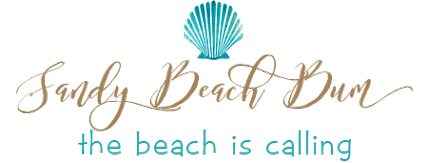 sandy beach bum logo